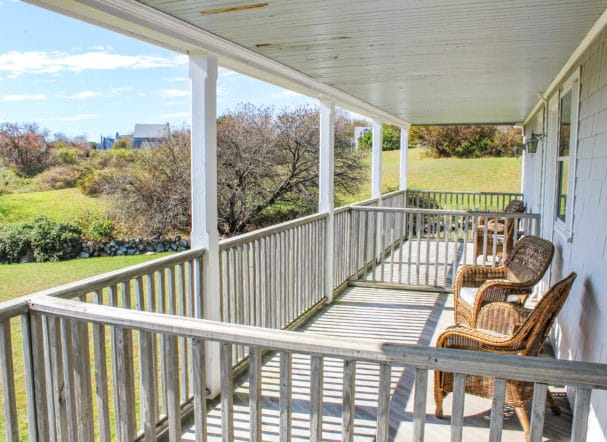 Rm 14 Private Deck