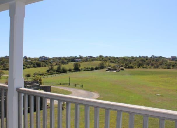 Porch land view